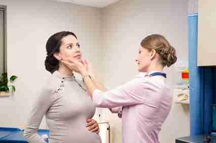 tiroides y embarazo, como controlarlo